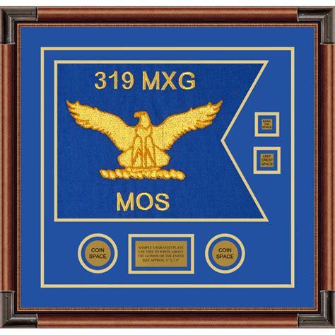 """Air Force 20"""" X 15"""" Guidon Design 2015-d3 Framed"""