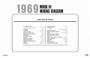 1969 Lincoln Mark Iii Electrical Wiring Diagrams