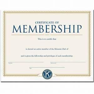 Life Membership Certificate Template
