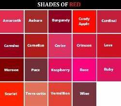 Shades Of Pink : why do most shades of red look like pink or a purple ish ~ Watch28wear.com Haus und Dekorationen