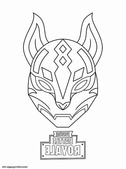 Fortnite Coloring Skin Coloriage Nomade Drift Cool