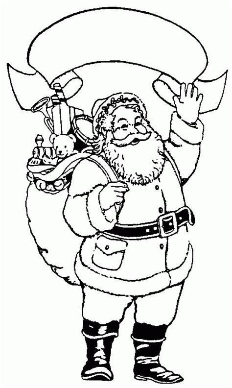 der weihnachtsmann ausmalbild malvorlage winterbilder
