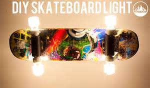 Click Lamp by How To Make A Skateboard Light Diy Skate Salty Peaks