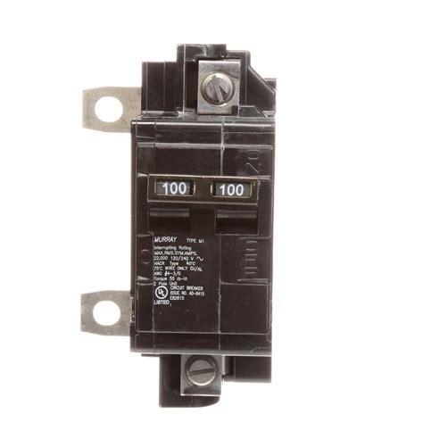 Murray 100 Amp Type M1 Main Breaker Conversion Kit MBK100M