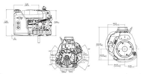 Mtd 10 Hp Wiring Diagram by Briggs Stratton Vertical Engine 10 5 Hp Intek 1 Quot X 3 5