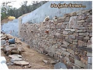 Construire Un Mur En Pierre : construire un mur de pierre construction maison b ton arm ~ Melissatoandfro.com Idées de Décoration