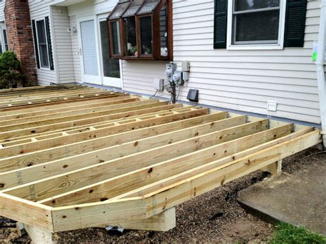 re cover deck framing project autumnwoodconstruction s