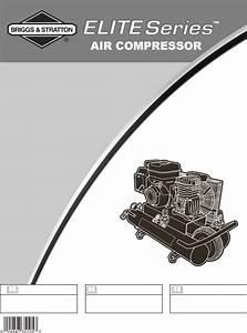 Briggs  U0026 Stratton Air Compressor 074002 User Guide