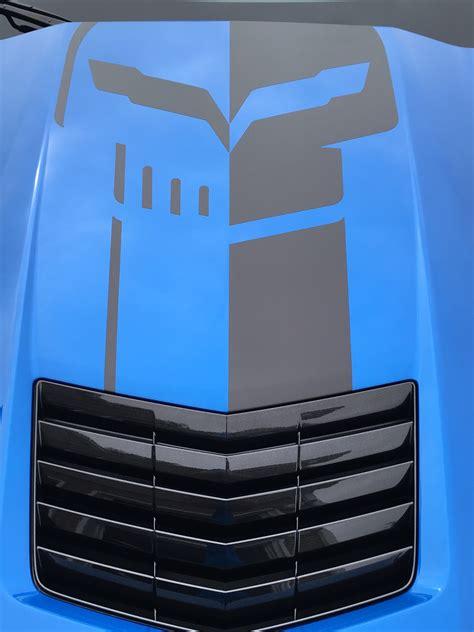 corvette racing jake skull logo page