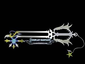 Kingdom Hearts 37 Oathkeeper Keyblade Cosplay [] - $199.99 ...