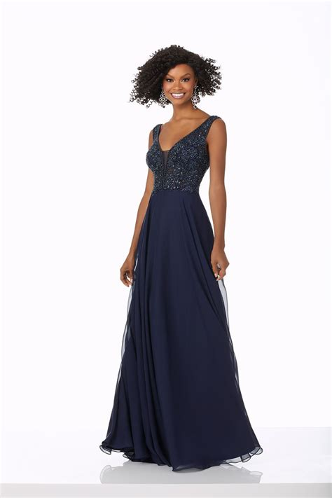 mori lee  prom dress prom gown