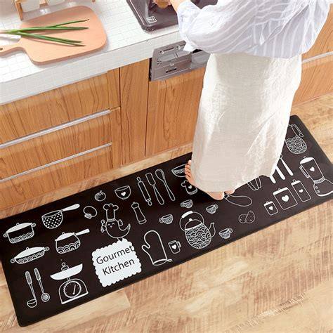 kitchen mat pvc mat kitchen rug set massage mats
