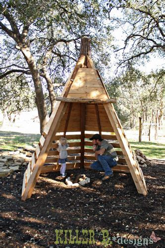 pallets play teepee play houses