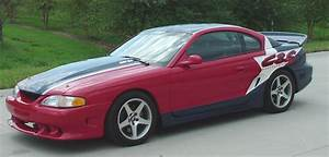 Red 1995 Ford Mustang Gt Coupe