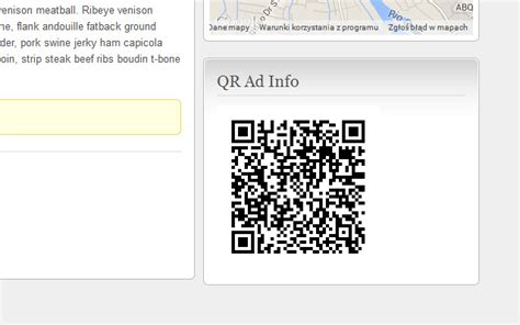 qr codes widget wordpress plugin