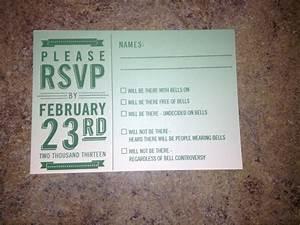 funny wedding response card invitations pinterest With funny wedding invitation rsvp goes viral