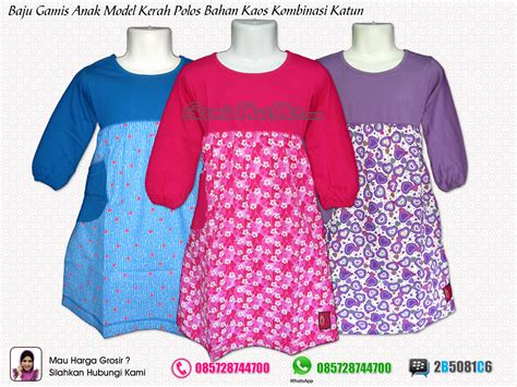 Baju Muslim Kaos Anak Grosir Baju Gamis Anak Remaja Perempuan