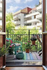 Balkongestaltung Kleiner Balkon : einfache n rdliche balkongestaltung ideen f r kleine fl chen ~ Orissabook.com Haus und Dekorationen