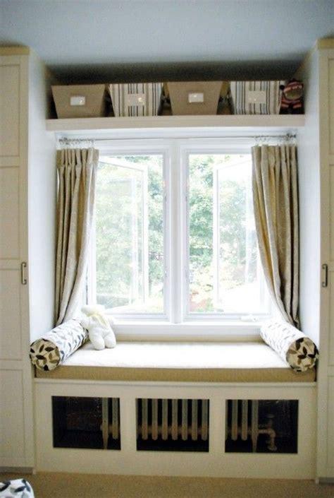 ideas  window seat curtains  pinterest