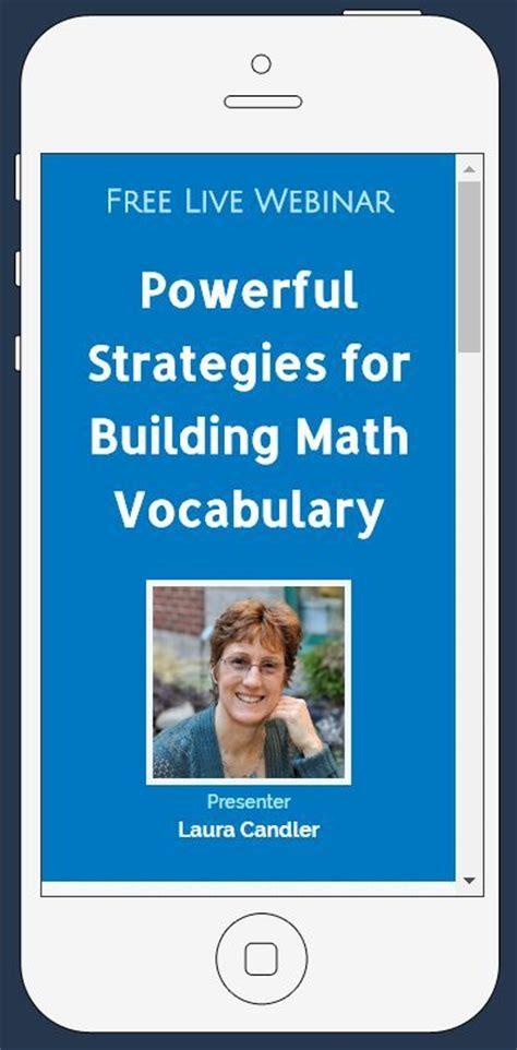 33 Best Teacher Webinars Images On Pinterest  Teacher Tips, Free Teaching Resources And Math