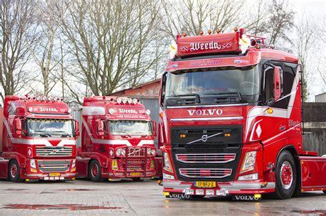 Nieuwe Volvo Fh-trekkers Voor Weeda Transport • Ttm.nl