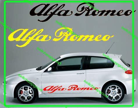 Alfa Romeo Sides Skirt Decal Sticker For Giulietta Spider