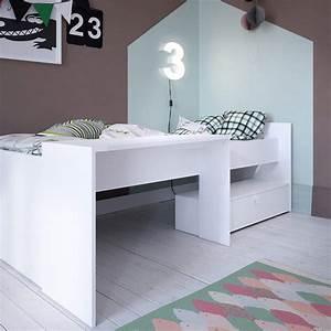 Lit Une Place Enfant : 10 lits enfants en mezzanine pour s 39 inspirer blog but ~ Melissatoandfro.com Idées de Décoration