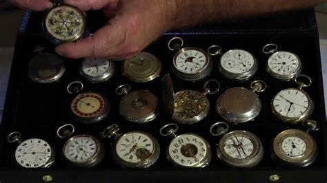 montres anciennes 224 gousset mr poirot horloger et mr picq collectionneur