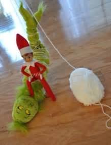 Elf On Shelf and Grinch