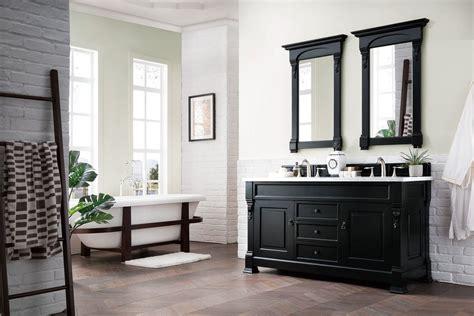60 brookfield antique black vanity bathroom vanity