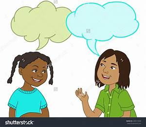 Students Talking Together Clipart (47+)