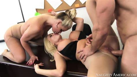 Threesome With Sexy Teachers Eporner