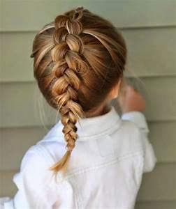 Coiffure Enfant Tresse : coiffure b b fille 62 id es faciles et trop mignonnes ~ Melissatoandfro.com Idées de Décoration