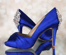 jeweled wedding shoes blue wedding shoes blue platform peep toe bridal heels with silver jeweled heel