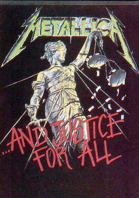 For All by Metallica And Justice For All Sticker