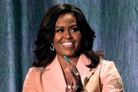 Michelle Obama Sparkles Outfit Becoming Book Tour