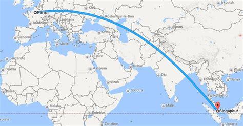 Singapour Carte • Voyages