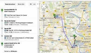 Auto Route Berechnen : bahn verbindung heraussuchen mit google maps ~ Themetempest.com Abrechnung