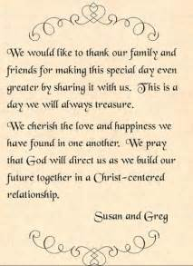 to my groom on our wedding day card wedding program thank you exles