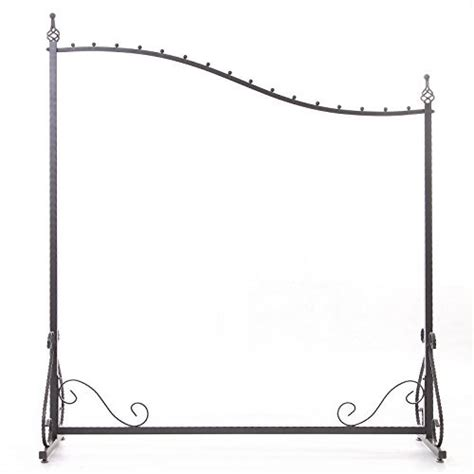 decorative metal garment rack free standing decorative antique grey iron garment coat