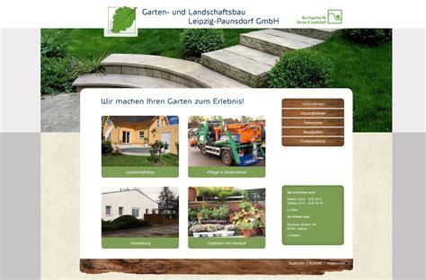 garten und landschaftsbau leipzig paunsdorf gmbh 171 artvantage webdesign printdesign leipzig