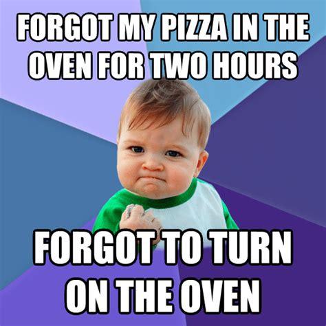 pizza oven livememe com success kid