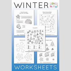 Winter Worksheets For Kindergarten  Itsy Bitsy Fun