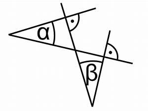 Partielle Ableitung Berechnen : winkel deren schenkel paarweise senkrecht aufeinander stehen mathelounge ~ Themetempest.com Abrechnung
