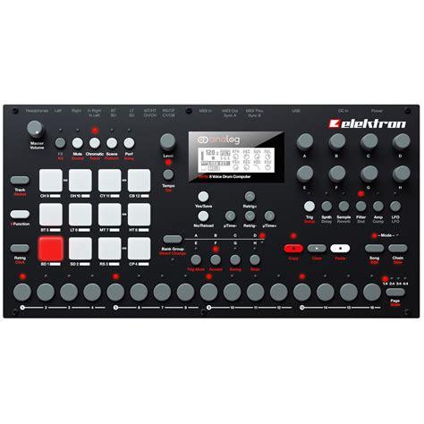 Best Drum Machine Elektron Analog Rytm 8 Voice Drum Machine At Gear4music