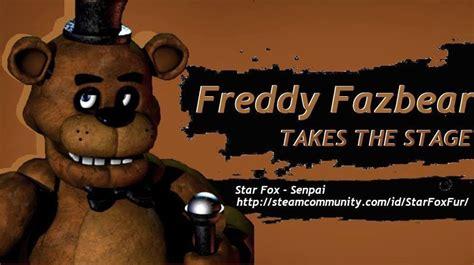 freddy fazbear takes the stage smash bros 4 character announcement parodies