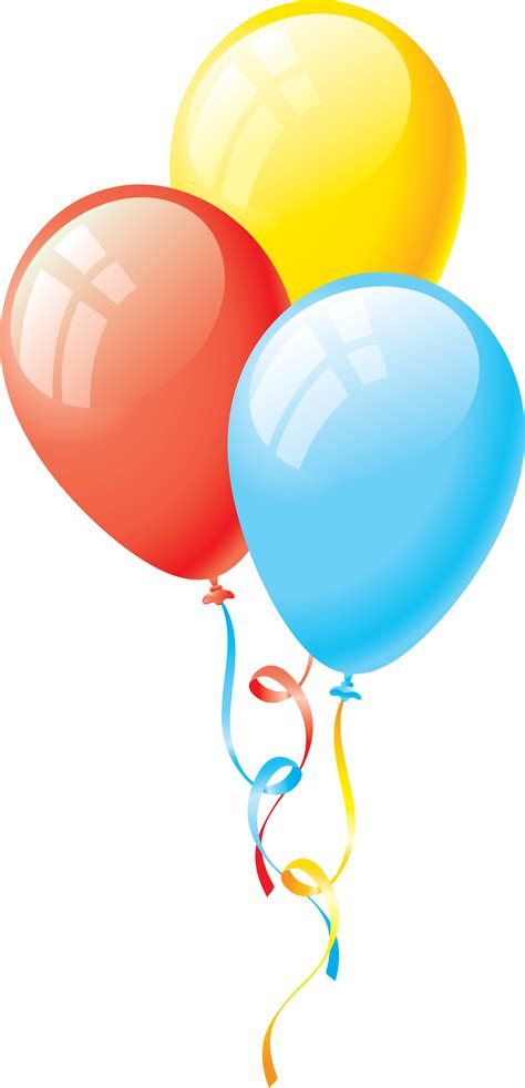 Balloons Clipart Pin By Agatka On Cliparts Balloons Birthday