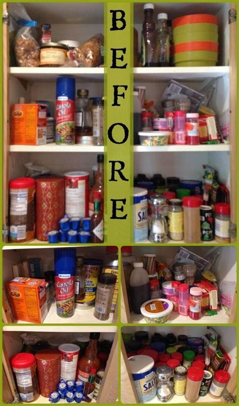 How To Organize Spices In Cupboard by Organized Kitchen Cabinet Spices Diy Ideas