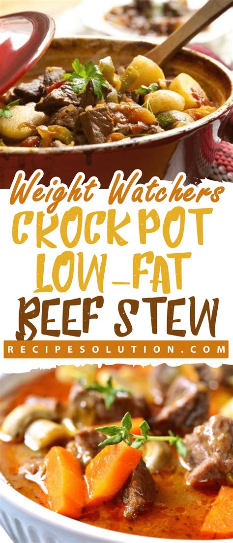 It is the perfect breakfast casserole to throw together in minutes. Crock Pot Low-Fat Beef Stew | Recipe SOLUTION 2021