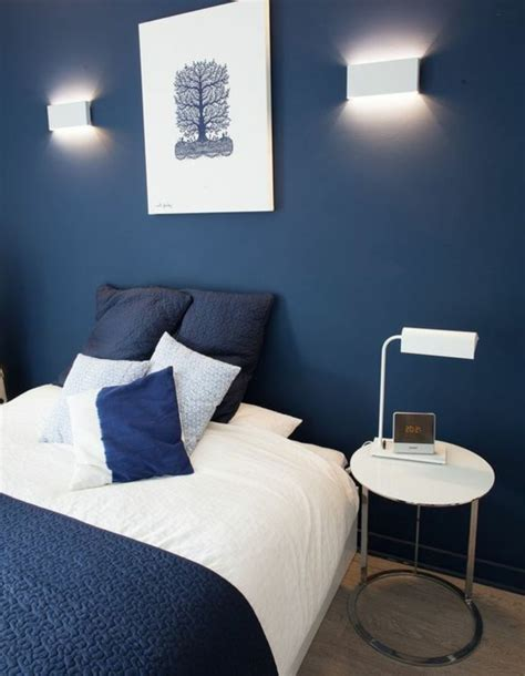 chambre bleu emejing chambre bleu marine et blanche pictures design
